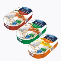 Филе сельди Fjordens Herings Filets In Tomaten Curry-Creme (200 г)
