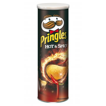 Чипсы Pringles Hot & Spicy, 165 г