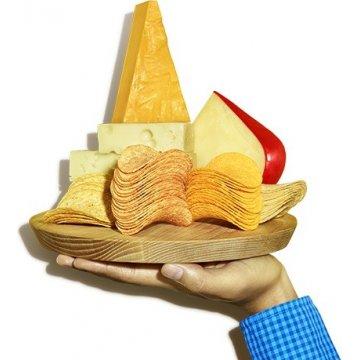 Чипсы Pringles Cheese & Onion, 165 г