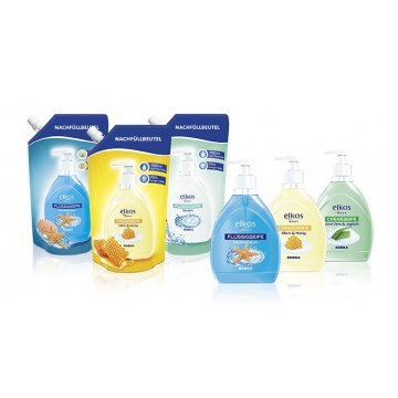 Жидкое мыло Elkos Body Milch & Honig (750 мл)