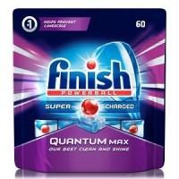 Таблетки для посудомоечных машин Finish Powerball Quantum Max, 60 ш