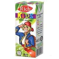 Нектар Rich Kids Виноград-Яблоко, 200 мл