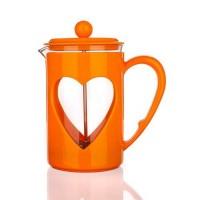Френч-пресс Banquet Darby, оранжевый (800 мл)