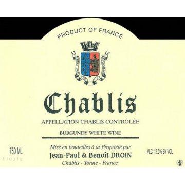 Вино Jean-Paul & Benoit Droin Chablis (0,75 л)