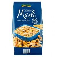Завтраки Musli Premium Crownfield с фруктами, орехами и семенами, 750 г