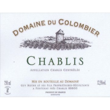 Вино Domaine Du Colombier Chablis (0,75 л)