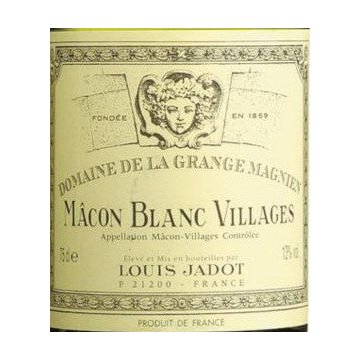 Вино Louis Jadot Macon Blanc Villages Grange Magnien (0,75 л)