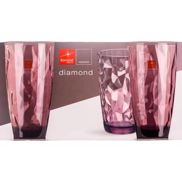 Стакан Bormioli Rocco Diamond Rock Purple (470 мл)