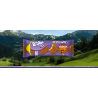 Печенье Milka Choco Jaffa Chocolate Mousse, 147 г