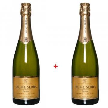 Набор шампанского Cava Jaume Serra Brut (0,75) + Cava Jaume Serra Brut (0,75)