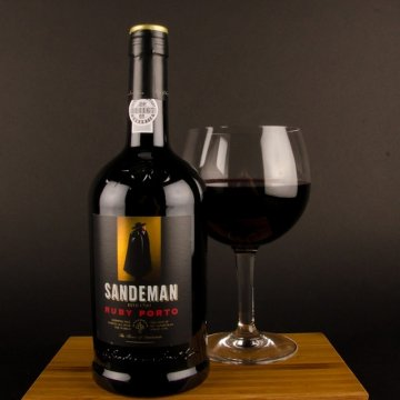 Набор Sandeman Porto Ruby (0,75 л) +2 стакана B