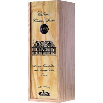 Водка Calvados Coeur de Lion, wooden box, 1971 (0,7 л)