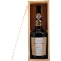Водка Calvados Coeur de Lion Pays d'Auge, wooden box, 1991 (0,7 л)