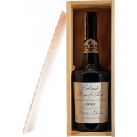 Водка Calvados Coeur de Lion Pays d'Auge, wooden box, 1989 (0,7 л)