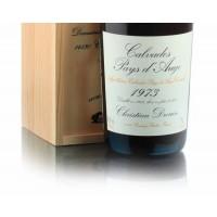 Водка Calvados Coeur de Lion Pays d'Auge, wooden box, 1973 (0,7 л)