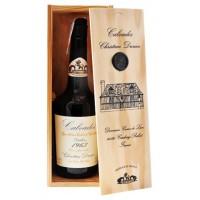 Кальвадос Calvados Coeur de Lion, wooden box, 1963 (0,7 л)