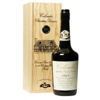 Водка Calvados Coeur de Lion, wooden box, 1968 (0,7 л)