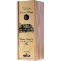 Водка Calvados Coeur de Lion Pays d'Auge, wooden box, 1993 (0,7 л)