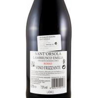 Вино Sant'Orsola Lambrusco Emilia Rosso (0,75 л)