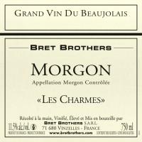Вино Bret Brothers Morgon Les Charmes, 2014 (0,75 л)