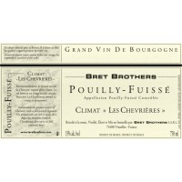 Вино Bret Brothers Pouilly-Fuisse Climat Les Chevrieres, 2014 (0,75 л)