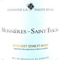 Вино Domaine la Haute Fevrie Muscadet Monnieres Saint Fiacre (0,75 л)