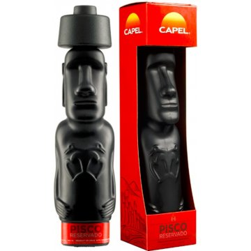 Писко Capel Pisco Moai Reservado, gift box (1 л)
