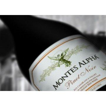 Вино Montes Alpha Pinot Noir (0,75 л)
