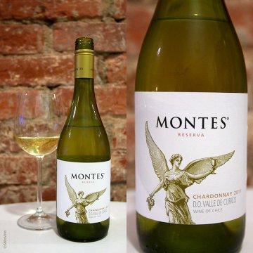 Вино Montes Chardonnay Reserva (0,75 л)