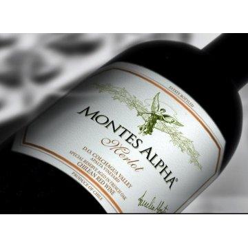 Вино Montes Montes Alpha Merlot (0,75 л)