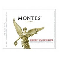 Вино Montes Cabernet Sauvignon Reserva (0,75 л)