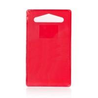 Доска Banquet Plastia Colore, красная (24,5x14,4 см)