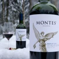 Вино Montes Merlot Reserva (0,75 л)