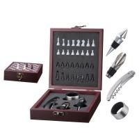 Подарочный набор для вина Peterhof с шахматами (4 пр)