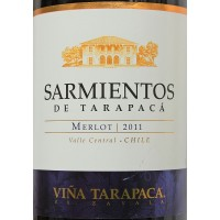 Вино Tarapaca Merlot Sarmientos (0,75 л)