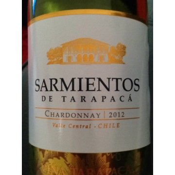 Вино Tarapaca Chardonnay Sarmientos (0,75 л)