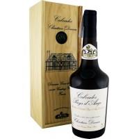 Водка Calvados Coeur de Lion Pays d'Auge, wooden box, 1984 (0,7 л)