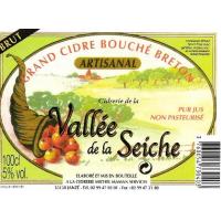 Сидр Vallee de la Seiche Cidre Bouche Artisanal Brut (1 л)