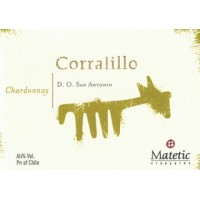 Вино Matetic Vineyards Chardonnay Corralillo  Matetic (0,75 л)