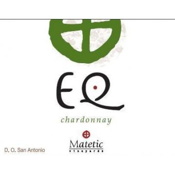 Вино Matetic Vineyards Chardonnay EQ (Equilibrio) (0,75 л)
