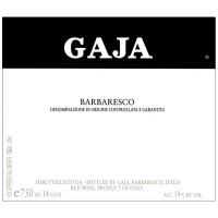 Вино Gaja Barbaresco, 2014 (0,75 л)