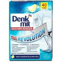 Таблетки для посудомоечных машин DM Multi Power Revolution (40 шт)