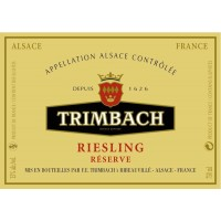 Вино Trimbach Riesling Reserve, 2014 (0,75 л)