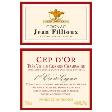 Коньяк Jean Fillioux Cep d'Or, gift box (0,7 л)