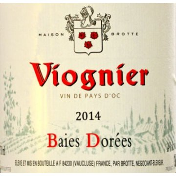Вино Viognier Baies Dorees, Brotte S.A. (0,75 л)
