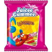 Жевательные конфеты Juicee Gummee Wormees(Червячки), 80 г