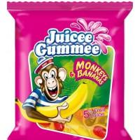 Жевательные конфеты Juicee Gummee Monkey-Bananas, 80 г