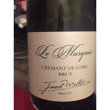 Игристое вино Joseph Mellot Cremant de Loire Le Marquis (0,75 л)