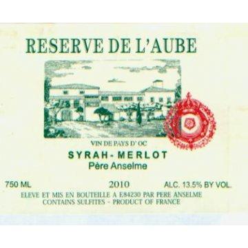Вино Brotte S.A. Syrah-Merlot Reserve de l'Aube Pere Anselme (0,75 л)
