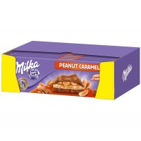 Шоколад Milka Peanut Caramel (276 г)